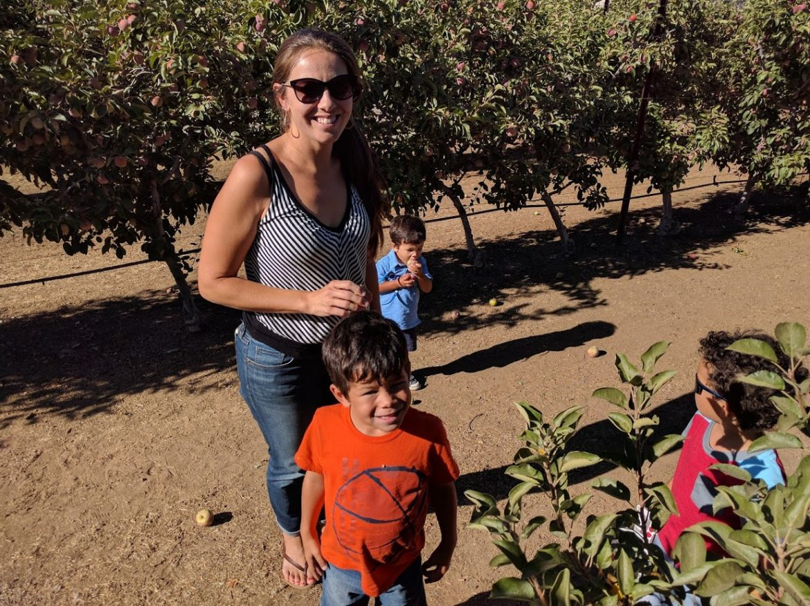 Our Final Airbnb Staycation: Picking Apples & Trying Not To Whoop The Kids