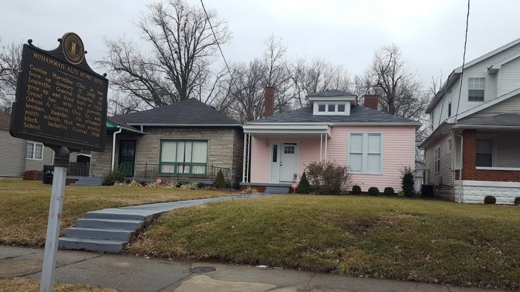 Muhammad Ali's childhood home in Louisville, Kentucky