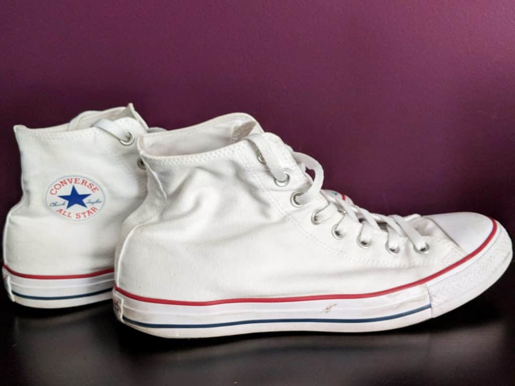 white chuck taylor high tops