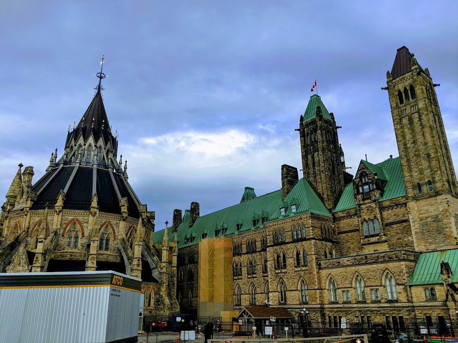 Castles that also serve as government buildings in Ottawa, Canada.