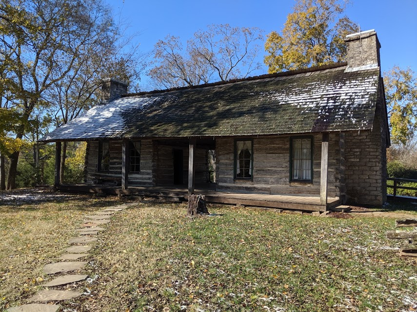 Former home of enslaved horse trainer Bob Green, Meade Plantation in Nashville, TN.