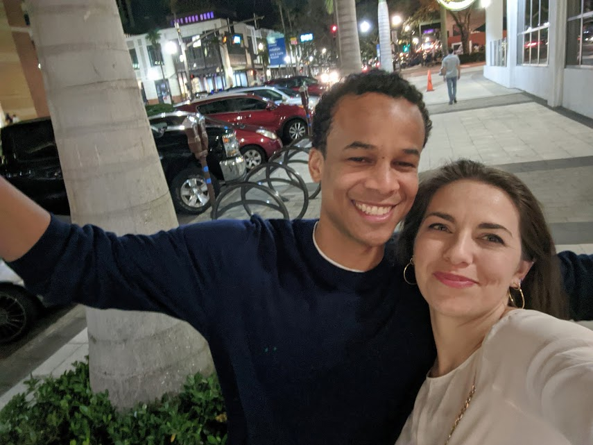 interracial couple buzzed in downtown St. Petersburg